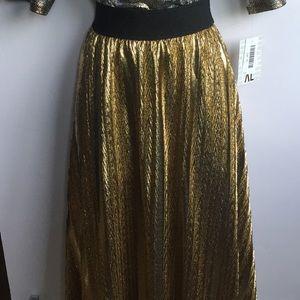 LuLaRoe vintage Elegant collection Lola skirt